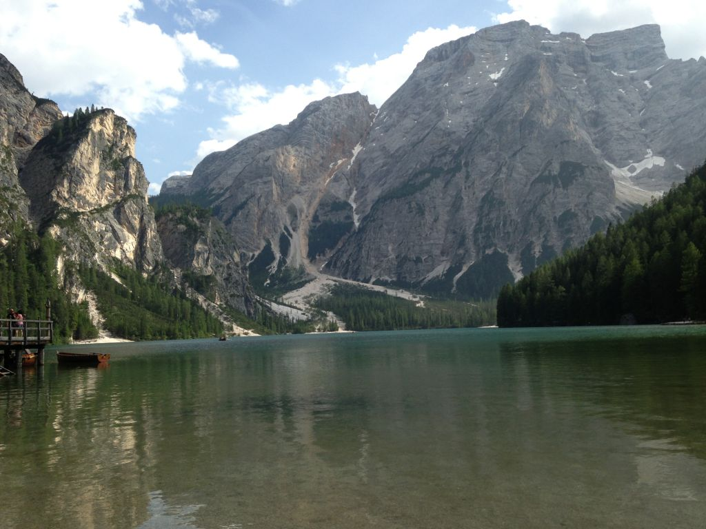 Lago di Brais, Trentino Alto Adige di Matteo Rebi