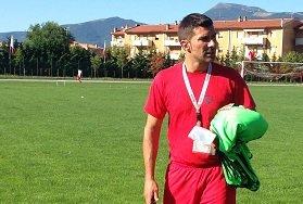 L'allenatore del Matelica Fabio Carucci