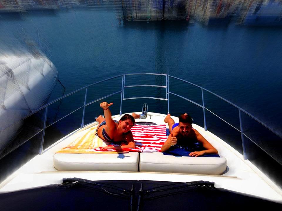 Vacanza in barca al porto di Numana di Mikael Mari