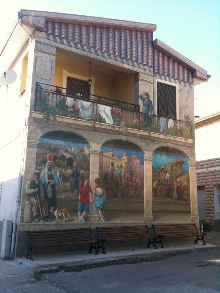 Murales Sedini (SS) Sardegna di Massimiliano Montecchiari