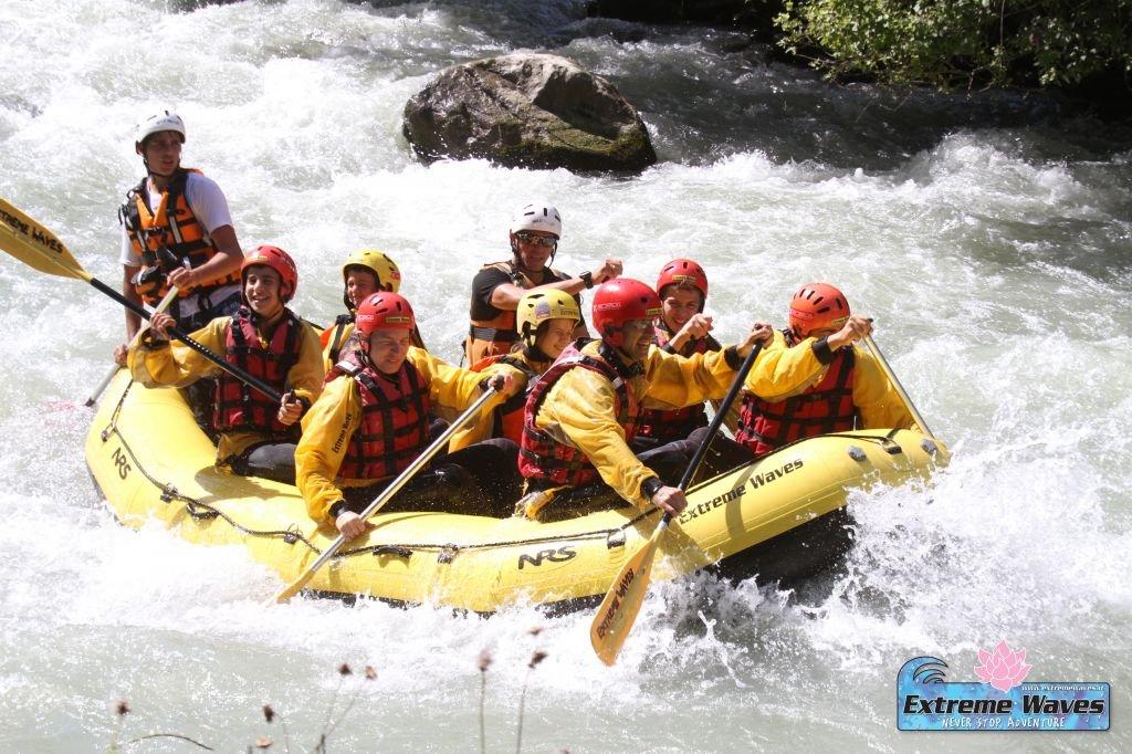 Rafting in Val di Sole, Trentino - di Andrea, Katia, Riccardo e Giulia
