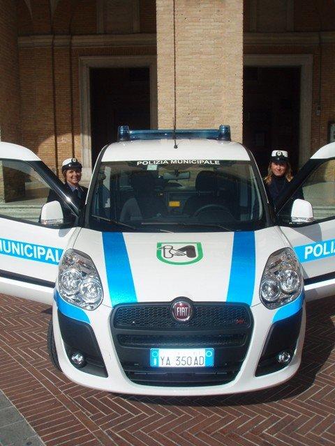 La polizia locale di Recanati
