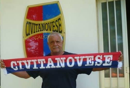 L'allenatore della Civitanovese Osvaldo Jaconi