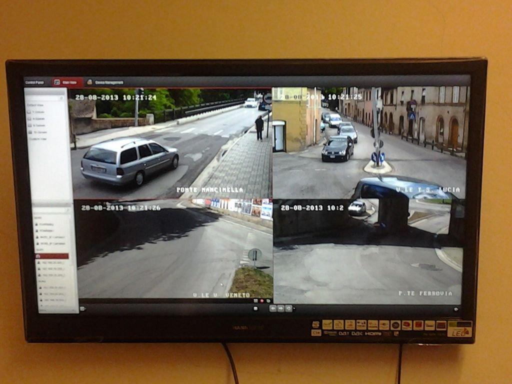 videosorveglianza telecamere tolentino