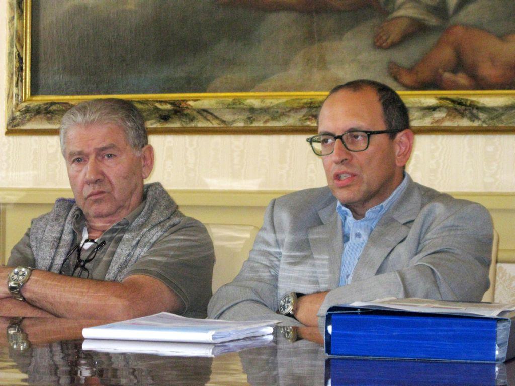 Luciano Sileoni e Tommaso Claudio Corvatta