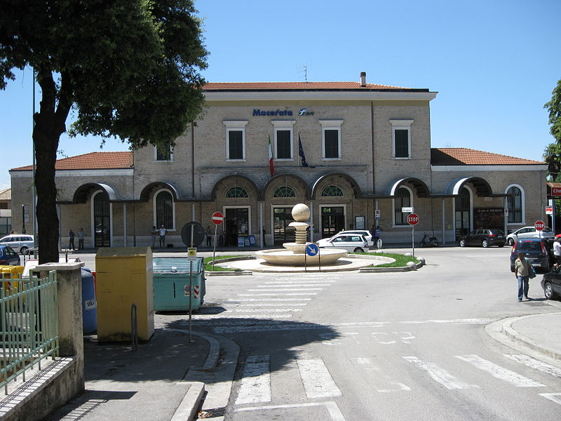 La stazione di Macerata