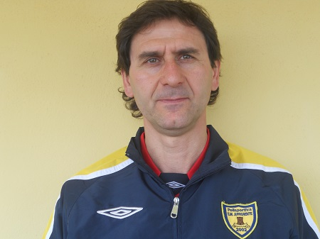 Paolo Esposto, allenatore del Santa Maria Apparente