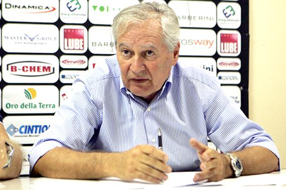 Albino Massaccesi, amministratore delegato della Lube Volley