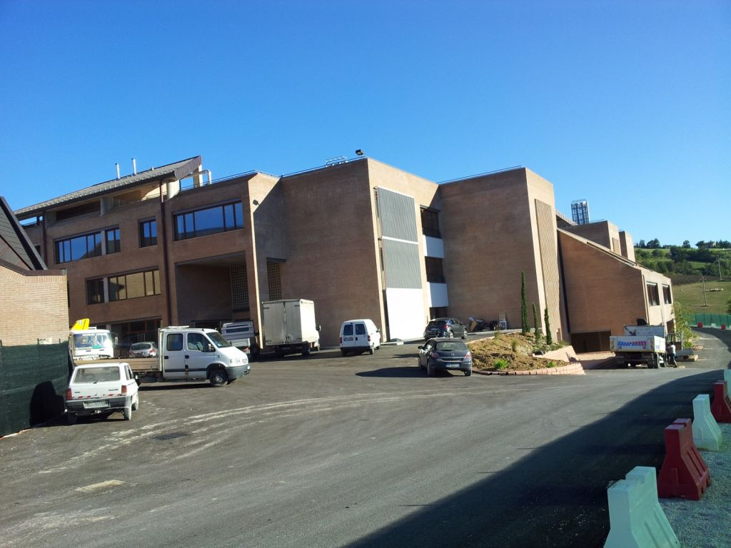 Il nuovo Campus scolastico di Camerino