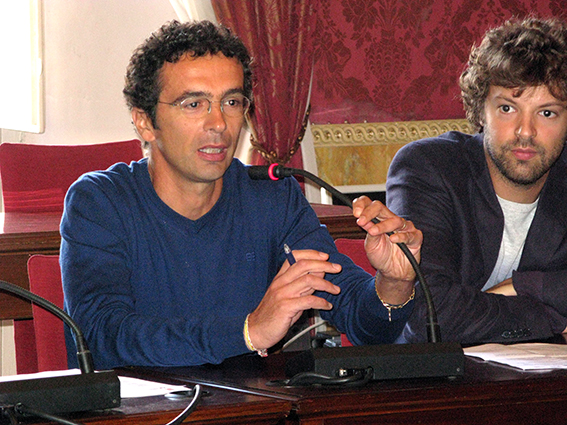 Alberto Cicarè e Alessandro Battoni