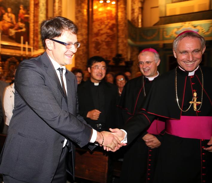Con Roberto Broccolo, sindaco di Urbisaglia