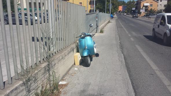 Incidente Vespa via de Amicis Civitanova (6)