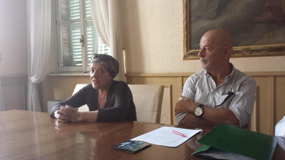 Natalia Tessitori e Sergio Carlacchiani