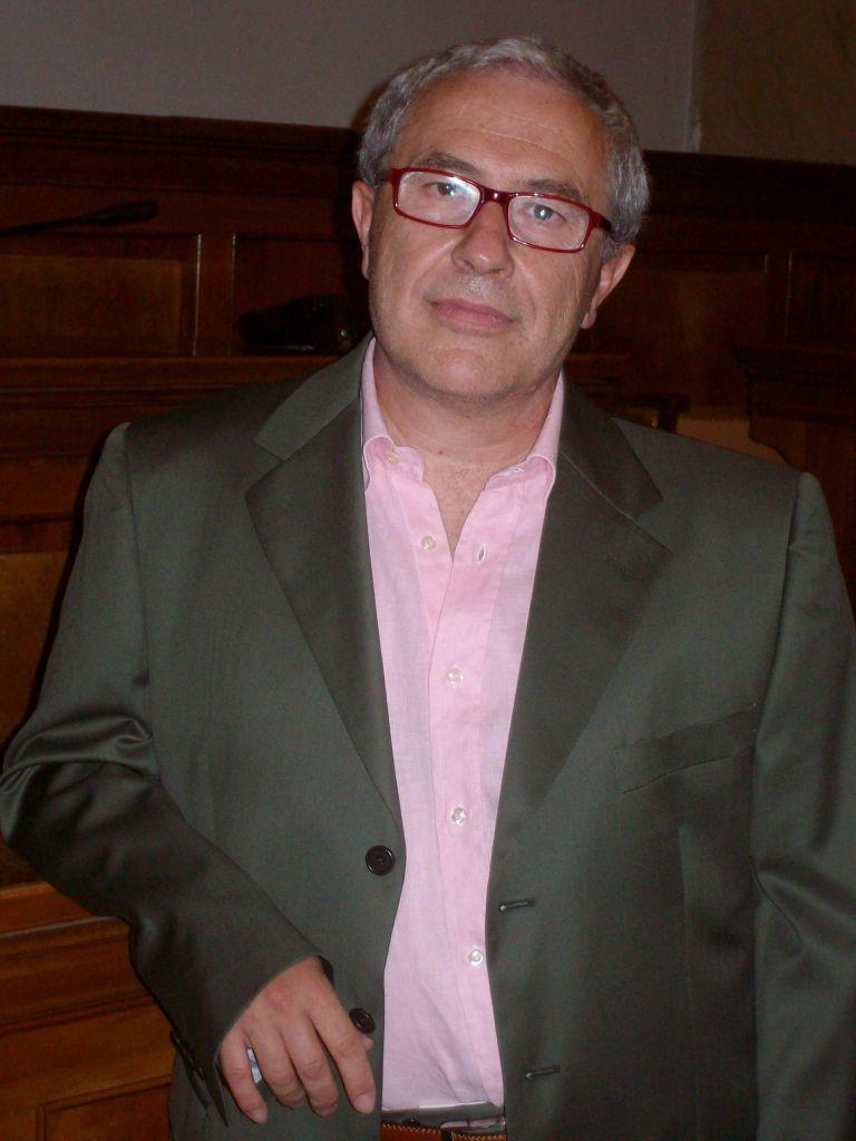 Maurizio Santini, segretario della Fiba-Cisl Banca Marche.