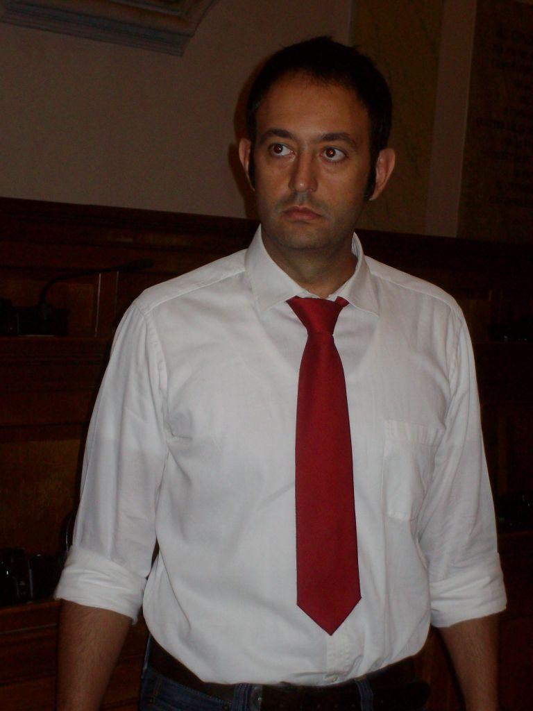 Averino di Marcantonio, segretario Fisac-Cgil Banca Marche.