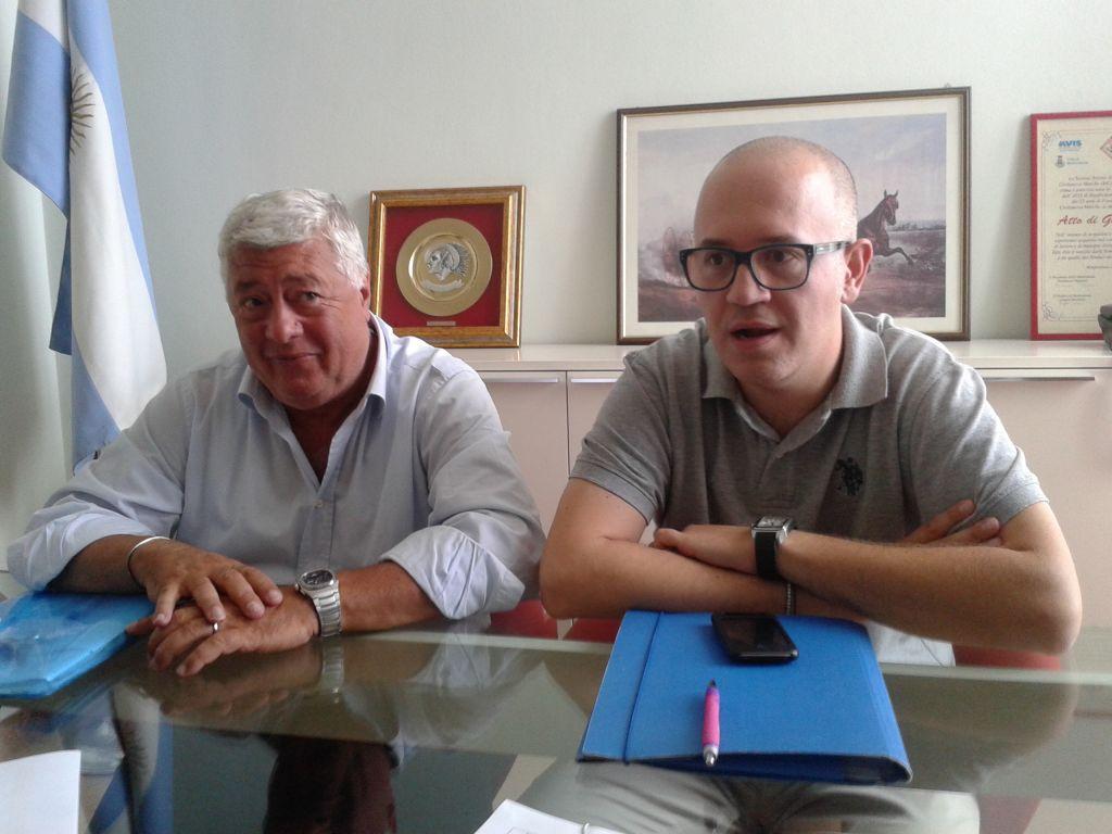Ottavio Brini e Fabrizio Ciarapica