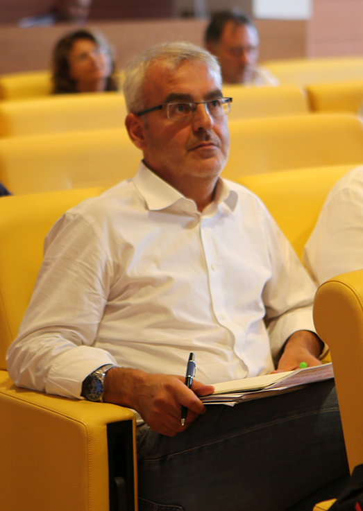 Romano Carancini all'assemblea del Cosmari del 4 settembre
