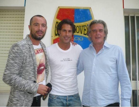 Fabio Galante in visita alla Civitanovese