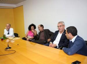 Da destra: Francesco Comi, Romano Carancini, Piero Ciccarelli e Mirella Paglialunga