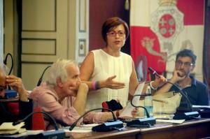 Anna Menghi e Giorgio Ballesi