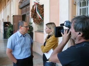 Il sindaco Corvatta intervistato dalla Rai sulle ville fantasma