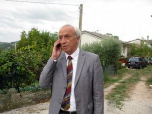Giuseppe Mancinelli, sindaco di Penna San Giovanni