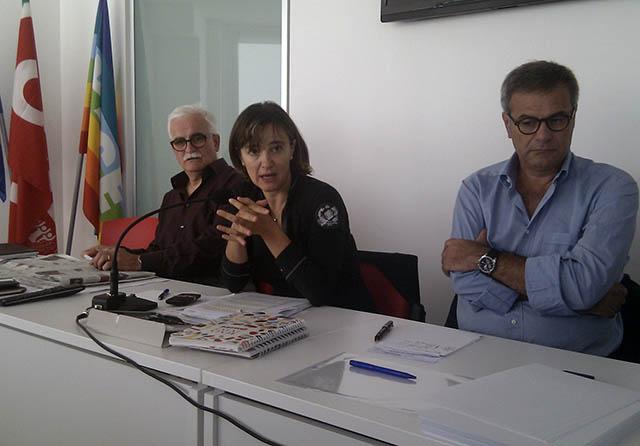 Domenico Ticà, Sonia Paoloni e Emilio Miceli