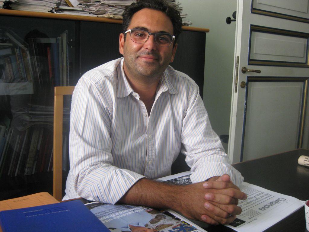 L'assessore alla partecipazione e al commercio Francesco Peroni