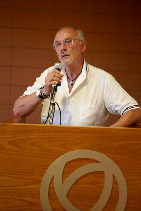 Luigi Monti, sindaco di Pollenza