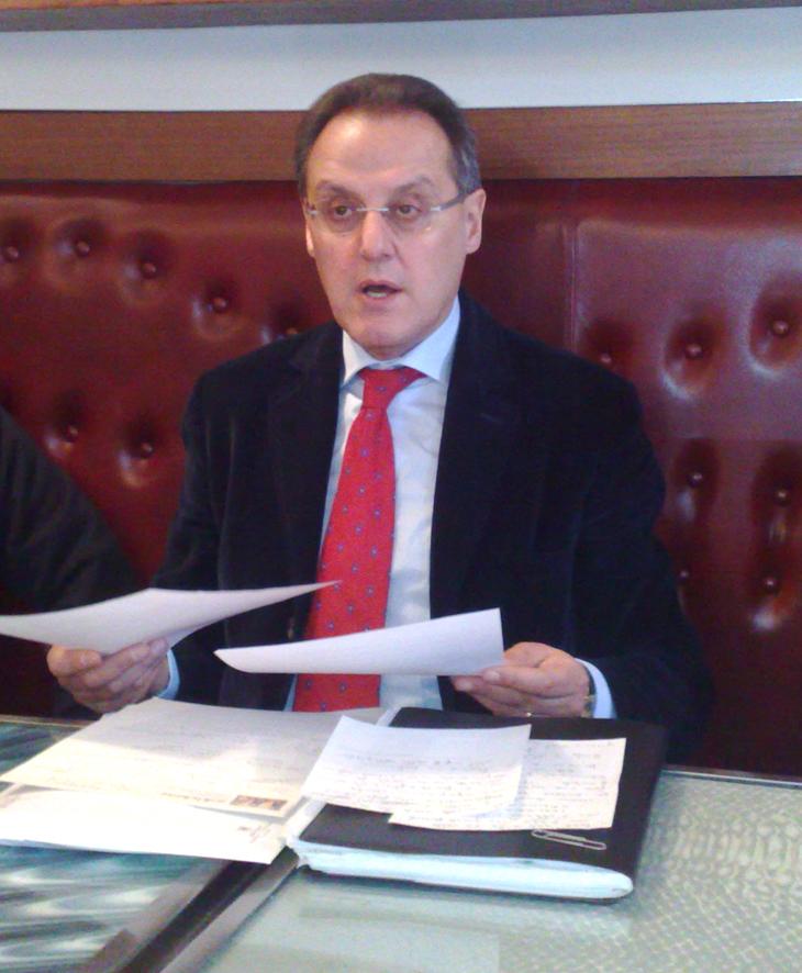Il consigliere comunale Erminio Marinelli