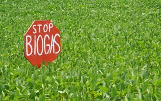 no biogas