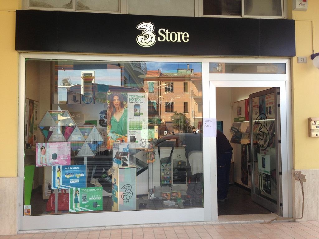 Il negozio Tre Store di Porto Recanati