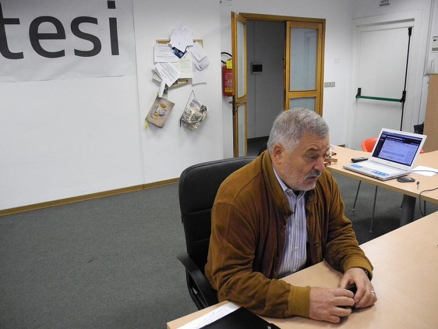 Alferio Canesin, assessore allo sport