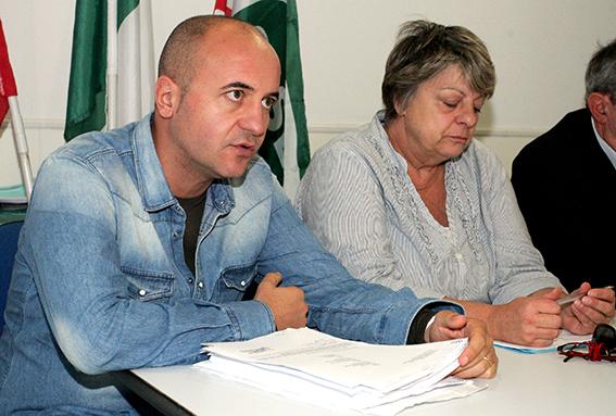 Andrea Luzi, delegato Cisl artigianato
