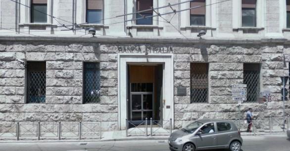 La sede di Ancona della Banca d'Italia