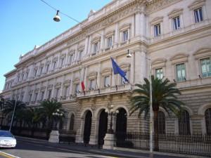 La sede romana di Banca d'Italia