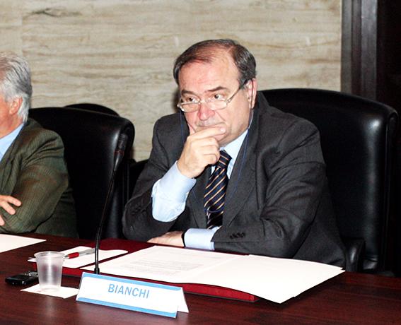 L'attuale presidente della Camera di Commercio, Giuliano Bianchi