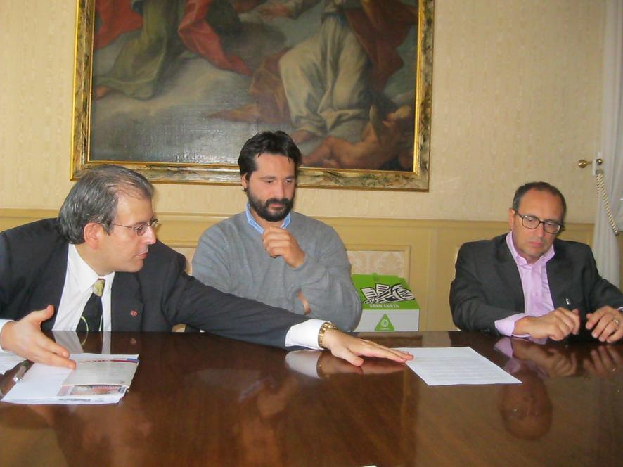Ivo Costamagna Marco Poeta e Tommaso Claudio Corvatta