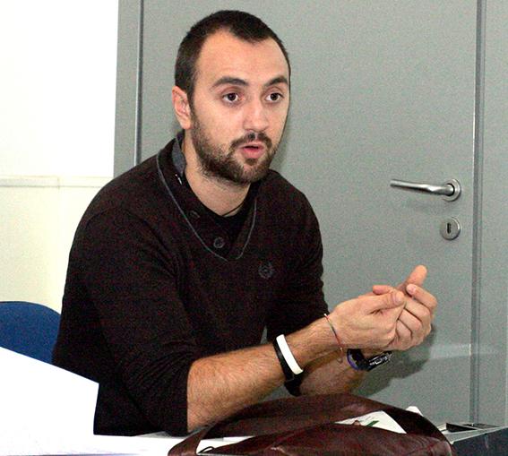 Daniele Principi, delegato Cgil artigianato