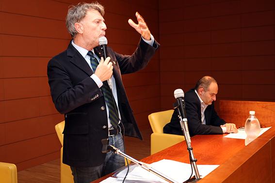 Il presidente del Cosmari, Daniele Sparvoli