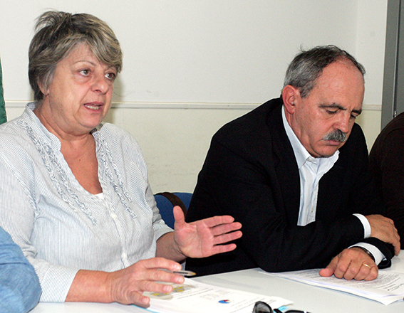 Lidia Fabbri e Aldo Benfatto
