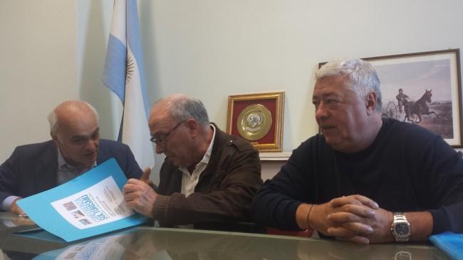 Da sinistra: Massimo Mobili, Sergio Marzetti, Ottavio Brini