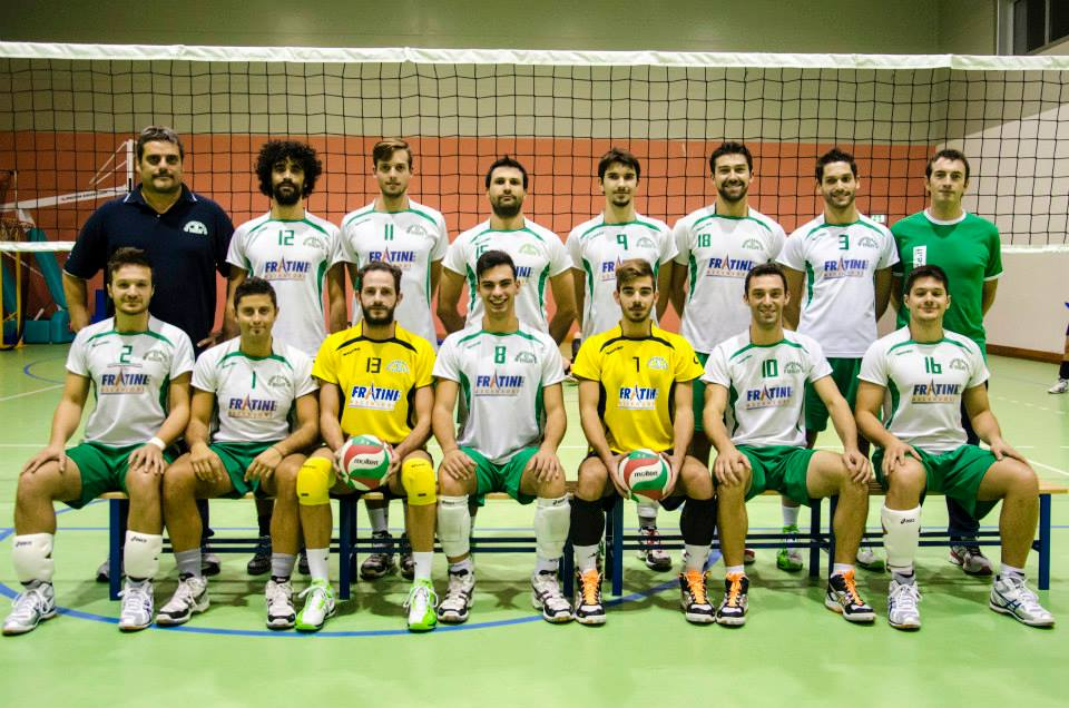 La formazione del Montalbano volley