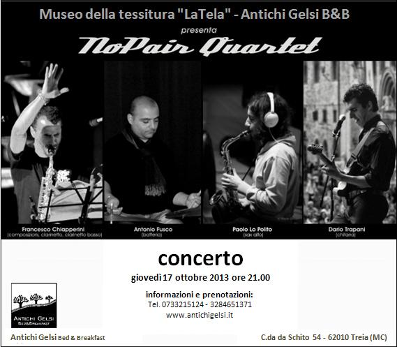 NoPair Quartet - Concerto
