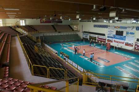 Il Palas Fontescodella di Macerata