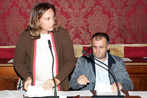 I consiglieri Deborah Pantana e Riccardo Sacchi (Pdl)