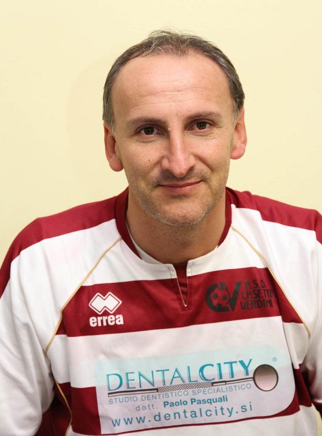 Pieralvise Ruani, allenatore  del Casette Verdini