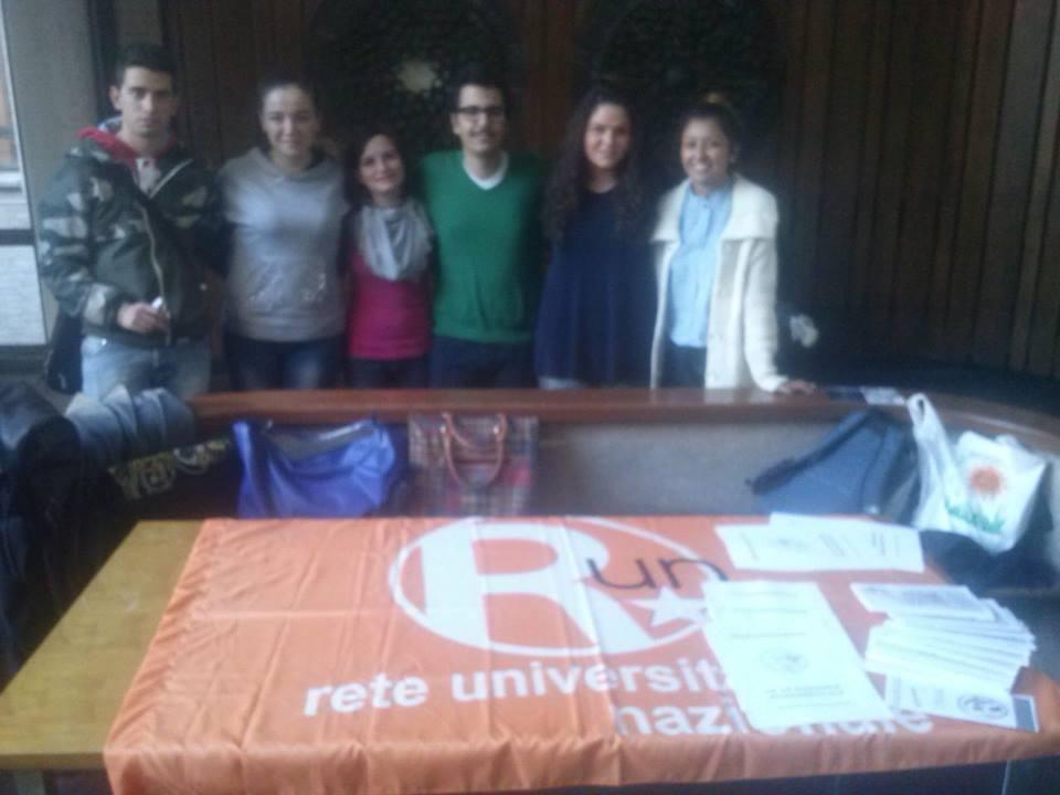 Gli studenti dell'associazione Run