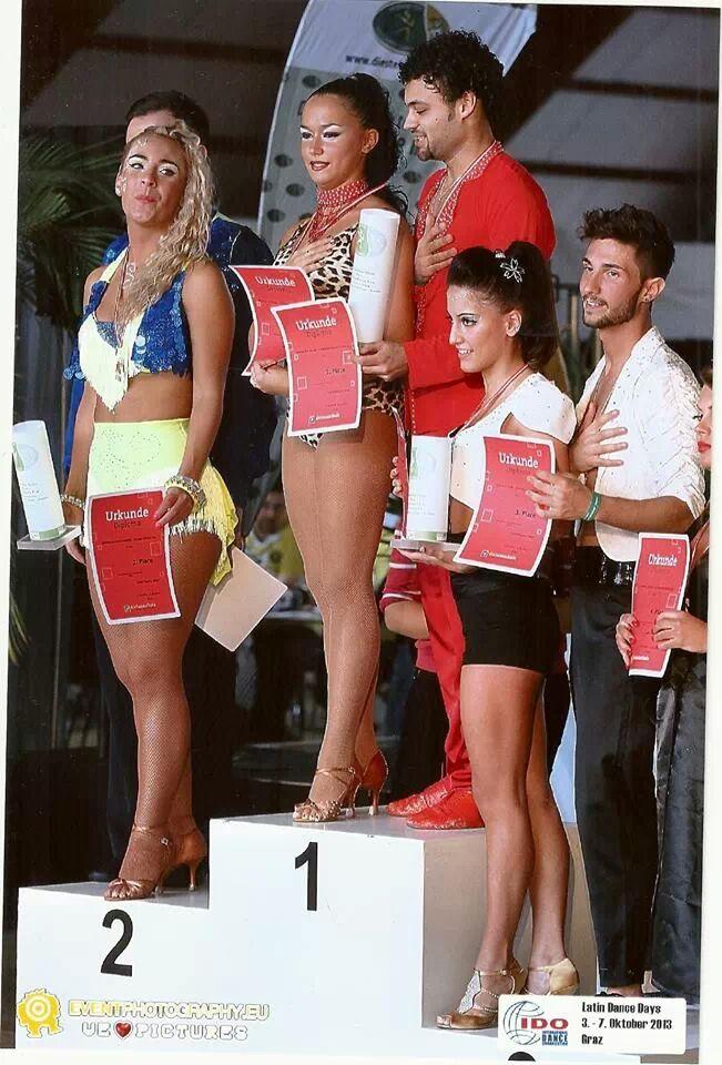 Il duo Vecchioli-Colucci sul terzo gradino del podio