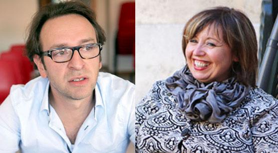 Mario Antinori e Teresa Lambertucci